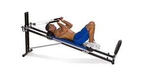 Total Gym Lying Triceps Extension