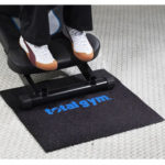 Total Gym rubber mat for stability