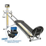 Total Gym FIT comes with a Free AbCrunch Attachment and Workout DVD