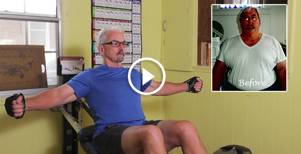 Mike lost 150 pounds with Total Gym!