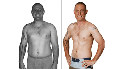 BRIAN LOST 45 LBS with Total Gym