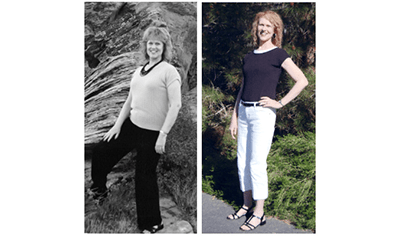 LINDA LOST 40 LBS with Total Gym