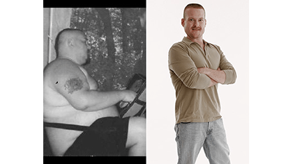 SHAWN LOST 177 LBS with Total Gym