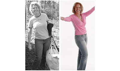SUSAN LOST 44 LBS with Total Gym
