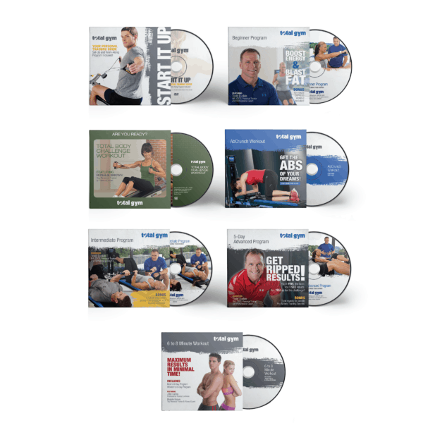 The best DVD workouts for your Total Gym!