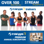 Total Gym TV Premium Subscription, over 100 workouts!